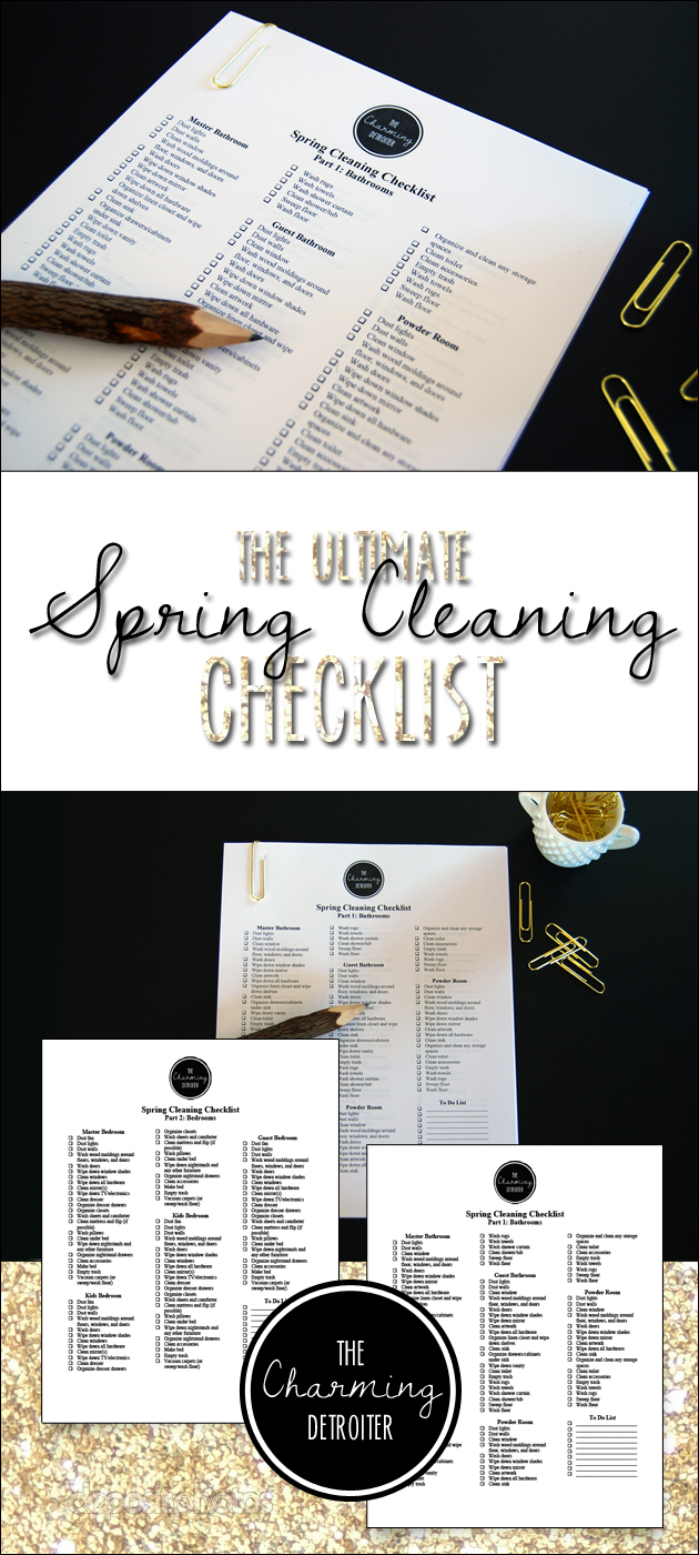On Spring Cleaning: Part 1