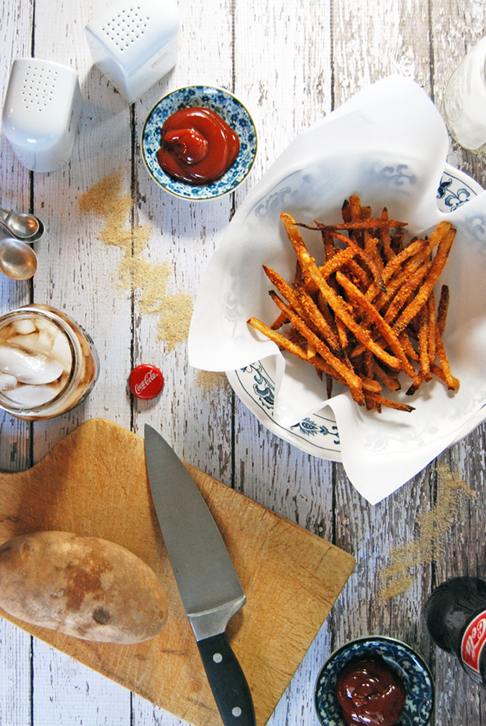Garlic Paprika Parmesan French Fries