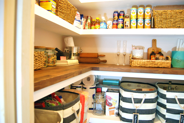 Our Home: The Finished DIY Pantry
