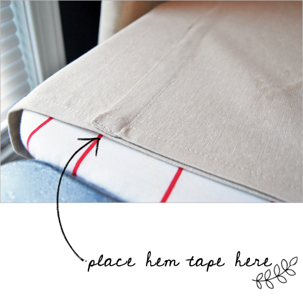 An Easy DIY Method for Hemming Curtains | The Charming Detroiter