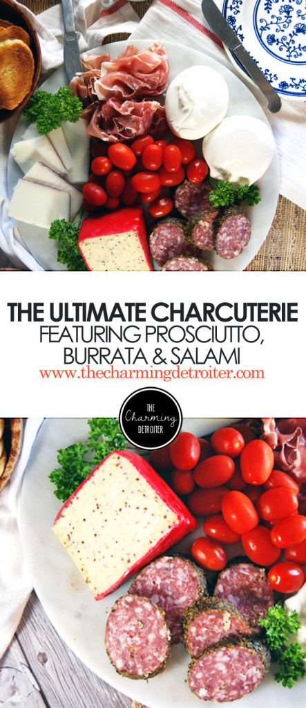 How to Assemble the Ultimate Charcuterie: Featuring a plethora of meats, cheeses, and spreads!