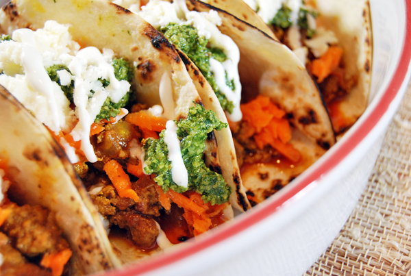 Lamb Tacos with Carrot Slaw and Cilantro Pesto | The Charming DetroiterLamb Tacos with Carrot Slaw and Cilantro Pesto | The Charming Detroiter