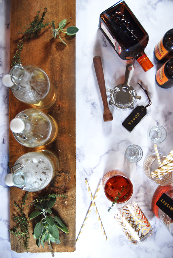 The Charming Detroiter's Ultimate Guide on How to Make Simple Syrup - Impress your friends and family with sophisticated cocktails once you learn how to make simple syrup with this ultimate simple syrup guide!