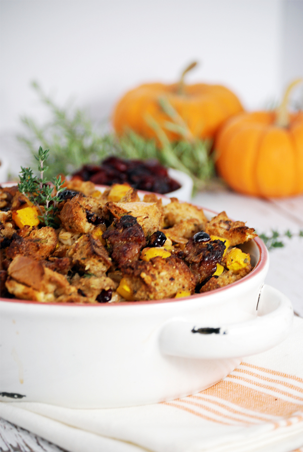 Why We Cook + A Recipe for Pumpkin Stuffing with Italian Sausage