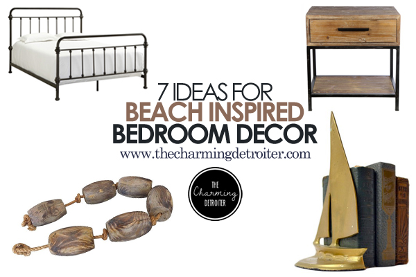 7 Ideas for Beach Inspired Bedroom Decor