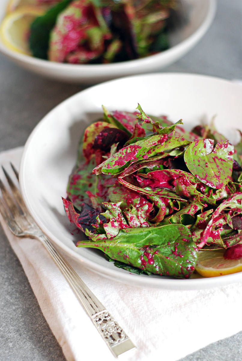 Tangy Roasted Beet Salad Dressing