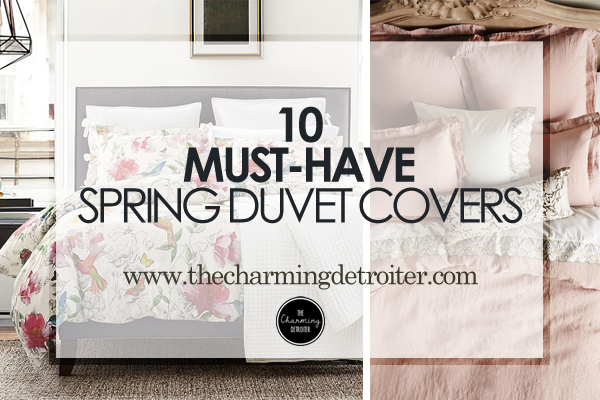 10 Must-Have Spring Duvet Covers