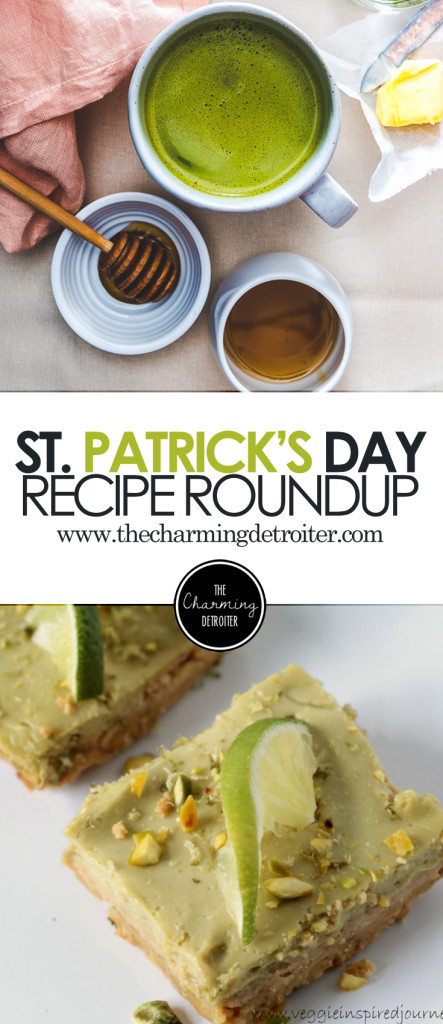 A collection of beautiful green-themed dishes to celebrate St. Patty's Day with!A collection of beautiful green-themed dishes to celebrate St. Patty's Day with!