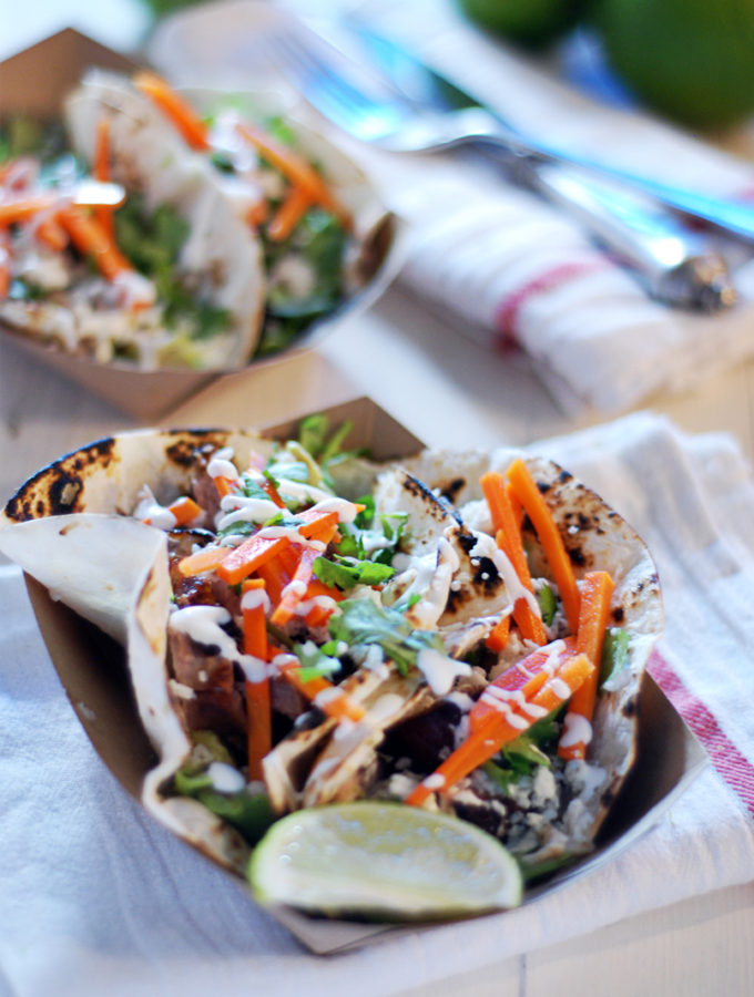 Crispy Pork Belly Tacos