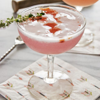 Rhubarb Vodka Cocktail
