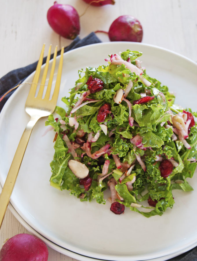 Kale and Radish Slaw