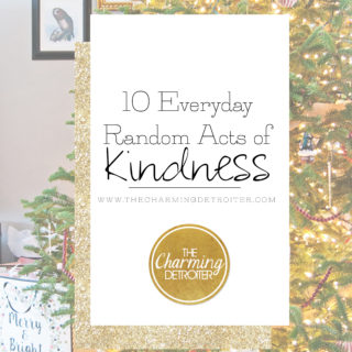 10 Everyday Random Acts of Kindness