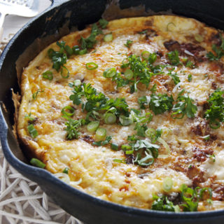 Chorizo and Butternut Squash Frittata