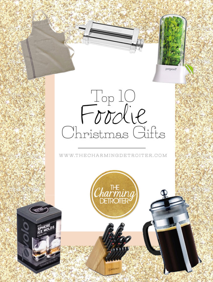 Top 10 Foodie Christmas Gifts