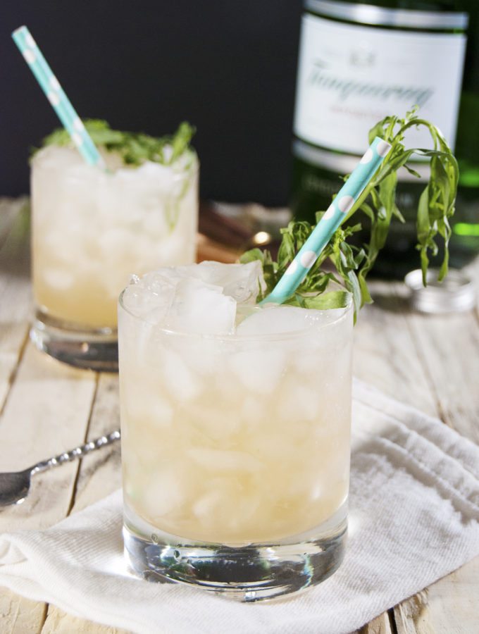 Tarragon Grapefruit Gin Cocktail