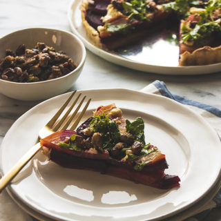 Roasted Beet Tart
