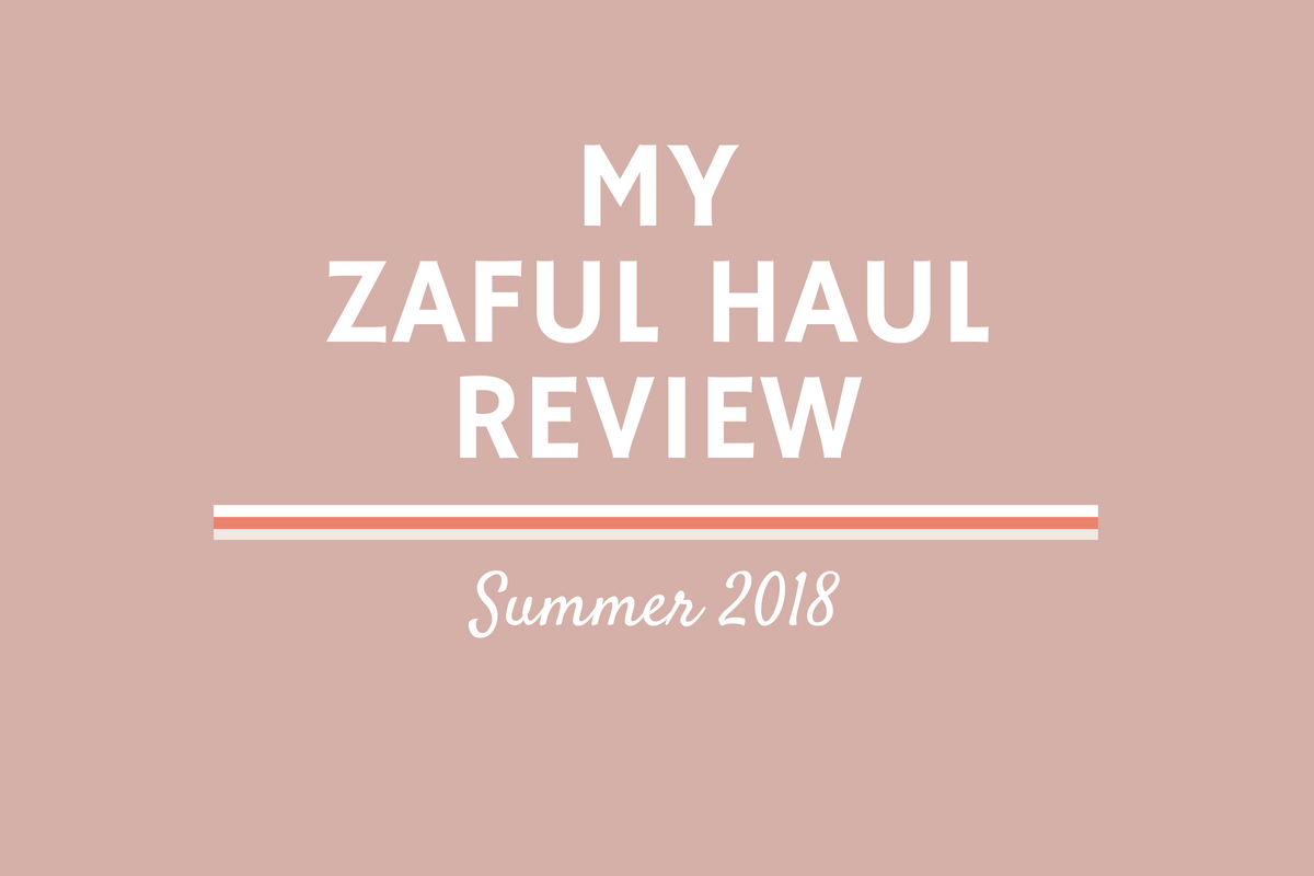 Come along with me on my first Zaful haul 2018! I'm reviewing their website, ordering process, shipping times, and item quality, so be sure to check out this post before ordering from Zaful!