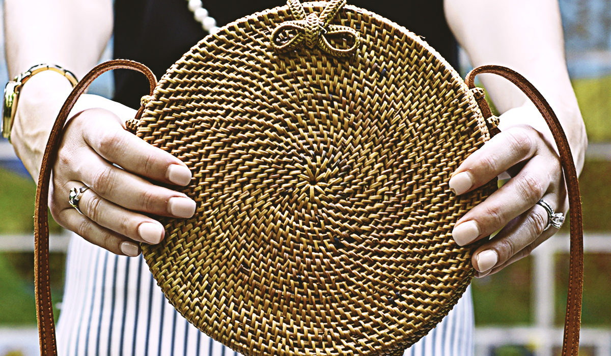 Summer is in full swing, and your'e missing out if your closet doesn't feature one of my ten must-have woven purses!
