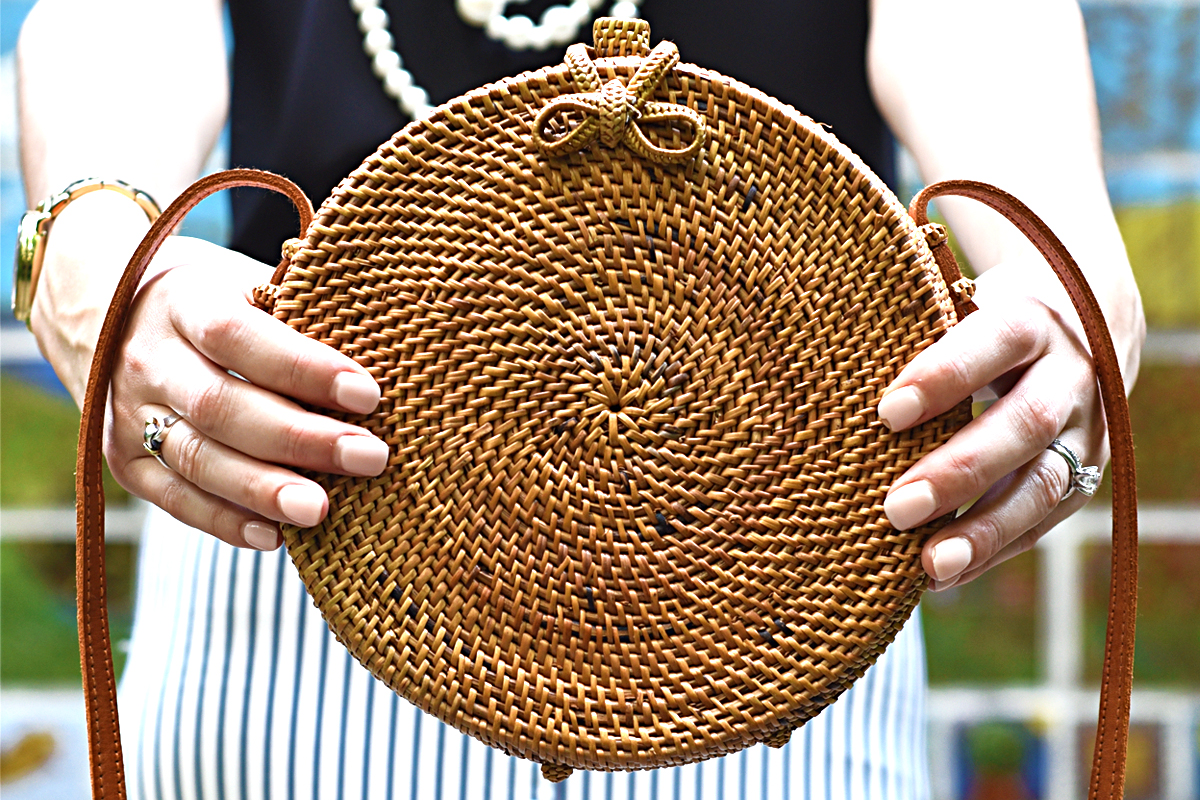 Summer is in full swing, and you're missing out if your closet doesn't feature one of my ten must-have woven purses!