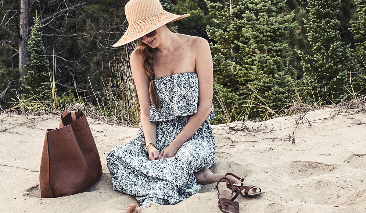 My new favorite sleeveless sundress is perfect for a summer weekend getaway up north, and is officially the comfiest dress in my closet these days!