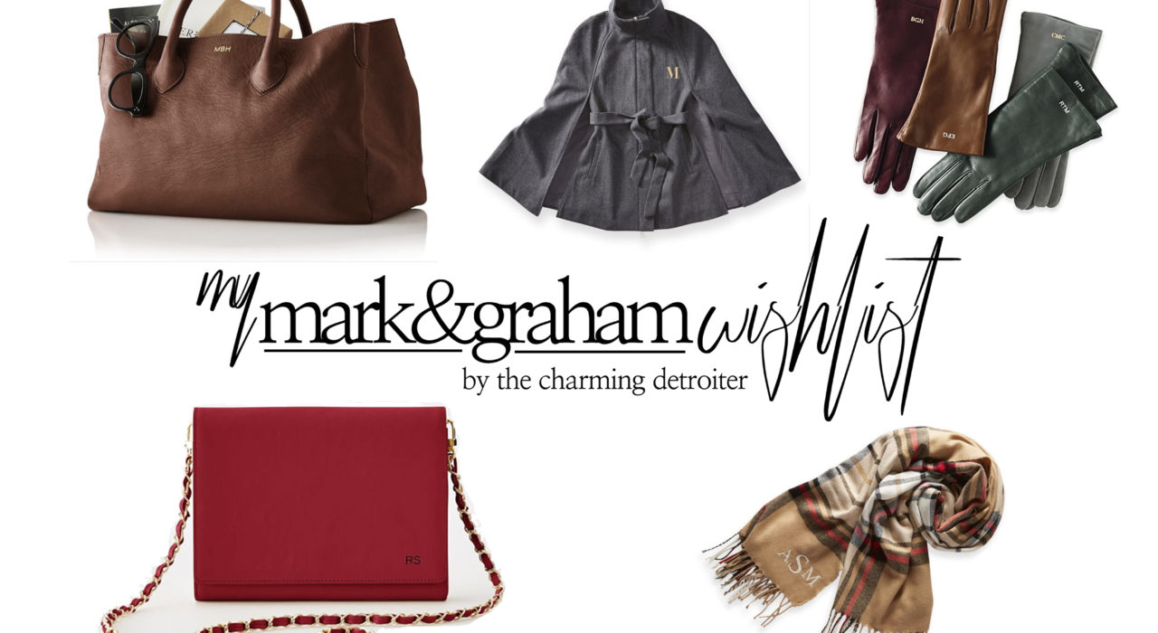 Mark & Graham makes some of the most classic bags and accessories, and today I'm sharing my fall wardrobe essentials from their autumn collection!